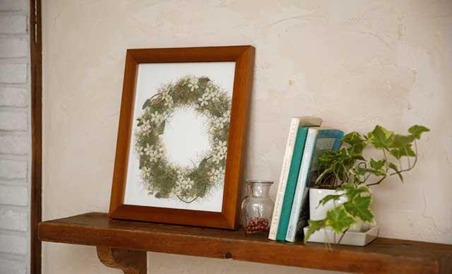 ブレスフラワー(押し花)イメージ